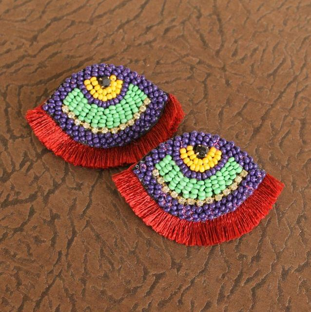Red Eye Earrings