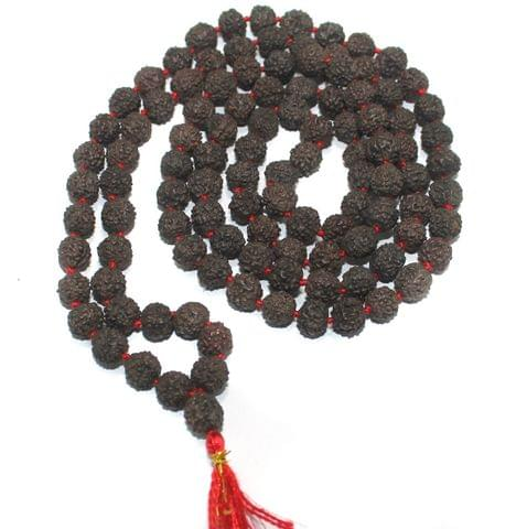 109 Beads Wooden Rudraksh Beads Mala 8mm