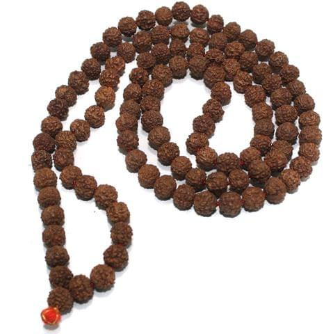 109 Beads Wooden Rudraksh Beads Mala 8mm
