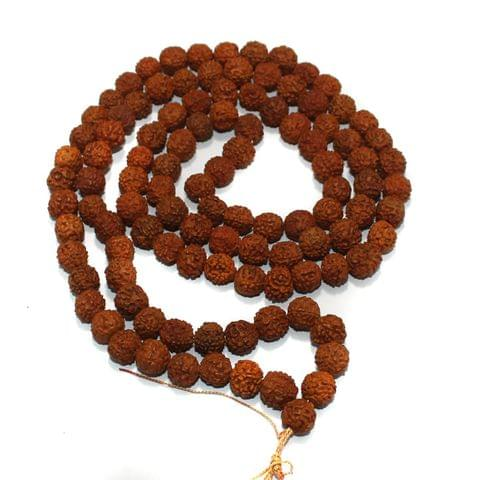 109 Beads Wooden Rudraksh Beads Mala 12mm