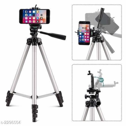 Adjustable Aluminium Alloy Tripod Stand Holder for Mobile Phones & Camera