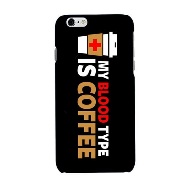 My Blood Type is Coffee Case
