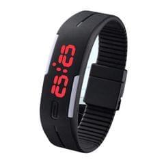 Popmode Exclusive Collection Black Color Strap Digital LED Band Wrist Watch for Boys, Girls, Men & Women
