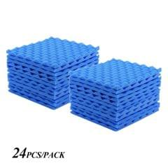 Studio Acoustic Foams Panels Sound Insulation Foam 30 * - Pack of 24pcs