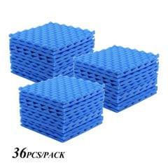 Studio Acoustic Foams Panels Sound Insulation Foam 30 * - Pack of 36pcs