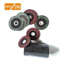 25pcs 100mm Premium High Density Calcined Aluminum Oxide - 240