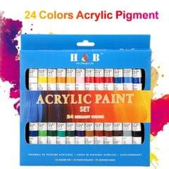 24 Colors Acrylic Paint Drawing Pigment Oil Painting Tube - 24 Colors