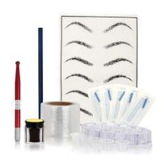 Microblading Kit Eyebrow Tattoo Needle Pen Set with Tattoo