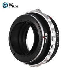 Fikaz High Precision Lens Mount Adapter Ring Aluminum Alloy - NIK(G)-FX
