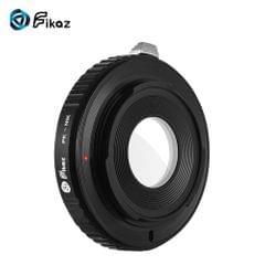 Fikaz High Precision Lens Mount Adapter Ring Aluminum Alloy - PK-NIK