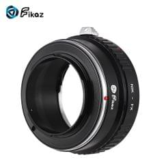Fikaz High Precision Lens Mount Adapter Ring Aluminum Alloy - NIK-FX