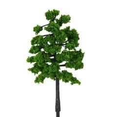 10 Pieces Plastic Model Trees Architectural Model Railroad