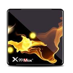 X99 MAX+ Smart Android 9.0 TV Box Amlogic S905X3 4GB / 128GB - US 128G