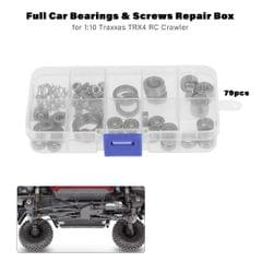 Full Car Bearings & Screws Repair Box for 1:10 Traxxas TRX4