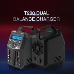 SKYRC T200 Dual AC/DC Balance Charging station 12A 100W XT60 - US plug