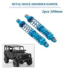 2pcs Shock Absorber Damper 100mm Metal for Traxxas TRX-4 - 100mm