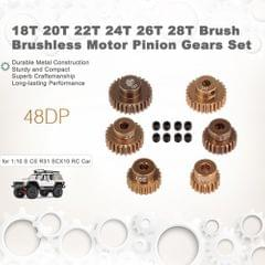 48DP 18T 20T 22T 24T 26T 28T Brush Brushless Motor Pinion