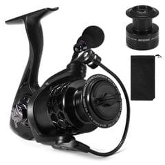 13+1BB Fishing Reel Smooth Spinning Reel with Spare Plastic - BE5000