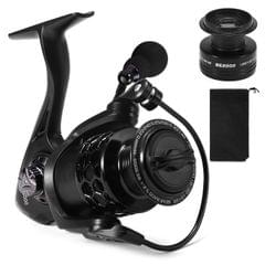 13+1BB Fishing Reel Smooth Spinning Reel with Spare Plastic - BE2000