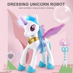C9 RC Robot  Electric Robotic Unicorn LED Wings Horn Contact