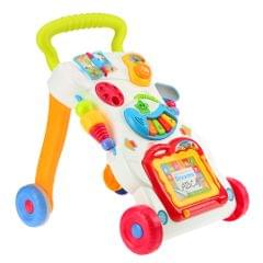 Multifuctional Toddler Trolley Sit-to-Stand ABS Musical
