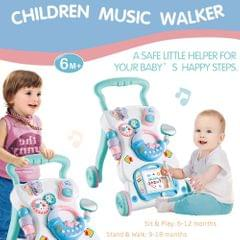 Baby Walker Multifuctional Toddler Walker Sit-to-Stand