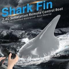 Flytec V302 RC Boat with Simulation Shark Fin Head 15km/h