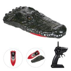 RC Boat for Kids Adult Simulation Crocodile Head Electric