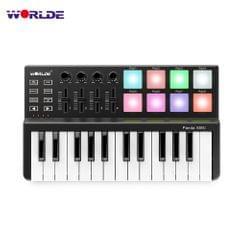 WORLDE Panda MINI 25-Key Ultra-Portable USB MIDI Keyboard