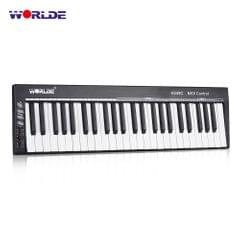 WORLDE KS49C 49-Key USB MIDI Keyboard Controller with 6.35mm - Without Sound Source