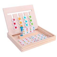 Four-Color Building Blocks Educational Toys  Logical