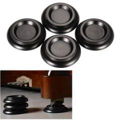 4pcs/set Solid Wood Upright Piano Caster Cups w/ EVA