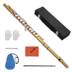 Muslady Professional Closed Hole C Flute Cupronickel