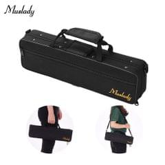 Muslady 16 Holes C Flute Case Gig Bag Backpack Box