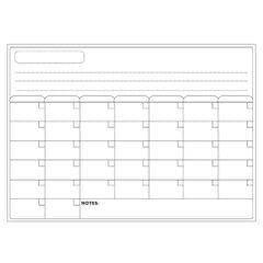 Magnetic Dry Erase Board Calendar Whiteboard Refrigerator