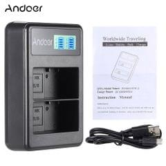 Andoer EN-EL15 Rechargeable LED Display Li-ion Battery - EN-EL15