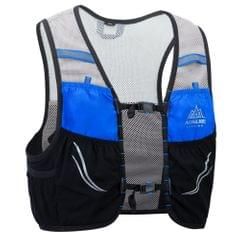 Outdoor Running Vest Mesh Breathable Hydration Rucksack Bag - L-XL