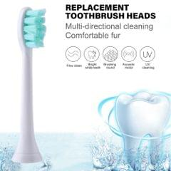 2pcs Toothbrush Heads Replacement Toothbrush Heads Cleaning