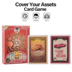 Cover Your Assets Card Game Party Play Cards A Card Game for
