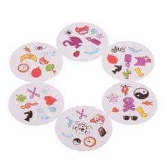Dobble Card Game Table Games  Play Cards Kids Toy Game