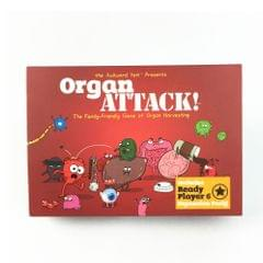 Organ Attack Table Games Playing Card Family Fun Toy Twisted