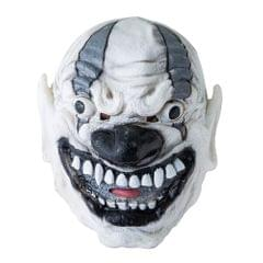 Haunted House Mask Scary Terror Creepy Cosplay Party White