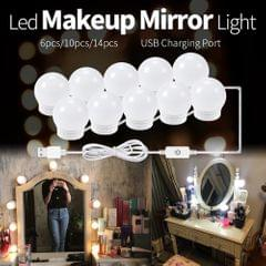 LED Vanity Mirror Lights Kit with 6 Dimmable Light Bulbs for - 6 Bulbs