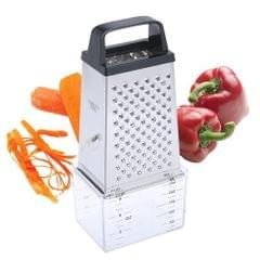 Stainless Steel Manual Cheese Vegetable Grater Box 4 Sided