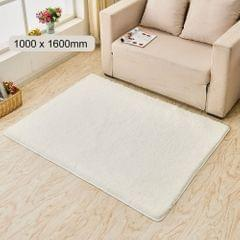 Ultra Soft Fluffy Rug Rectangle Shape Carpet Area Rugs Floor - 1000 x 1600mm