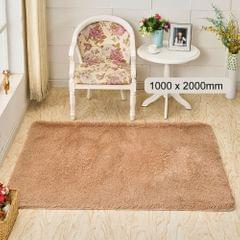 Ultra Soft Fluffy Rug Rectangle Shape Carpet Area Rugs Floor - 1000 x 2000mm