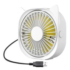 Mini Desk Fan Quiet 3 Speed Portable Fan Personal Desk 360