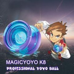 MAGICYOYO K8 Polished Alloy Aluminum Professional Yoyo Ball - type1