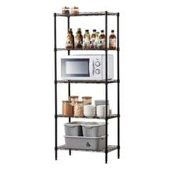 HOME ORGANIZER 5 Tier Wire Shelves Heavy Duty Height