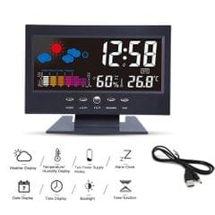 Multi-functional Alarm Clock Backlight LCD Screen Digital